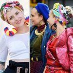 Thời trang - Mùa thu xốn xang cảm xúc với mũ turban
