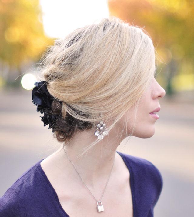 Tết sam cho mái tóc dài quyến rũ - 8