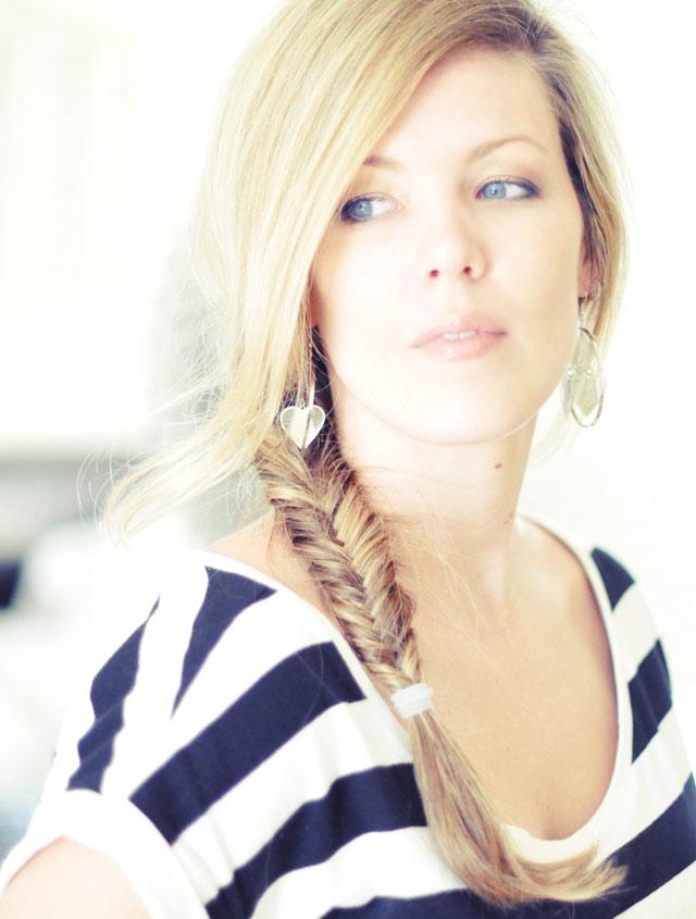 Tết sam cho mái tóc dài quyến rũ - 7