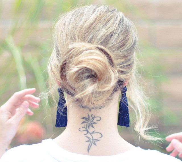 Tết sam cho mái tóc dài quyến rũ - 13