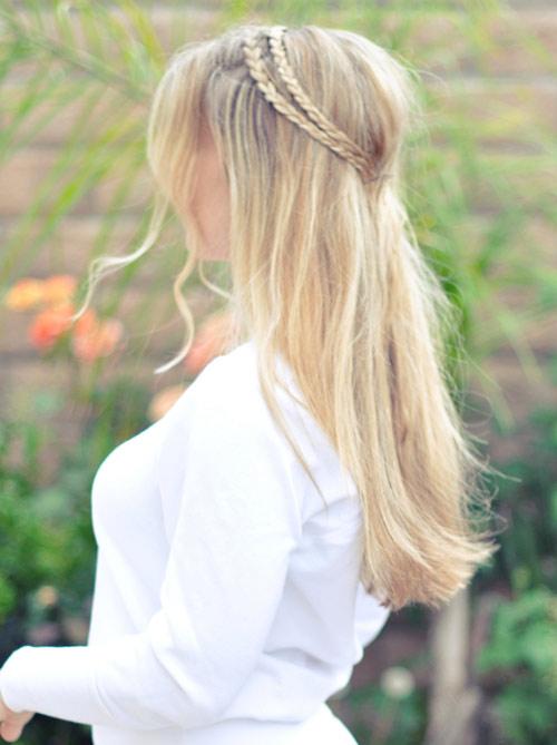 Tết sam cho mái tóc dài quyến rũ - 5