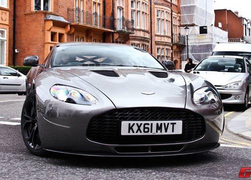 Aston Martin V12 Zagato xuất hiện London - 10