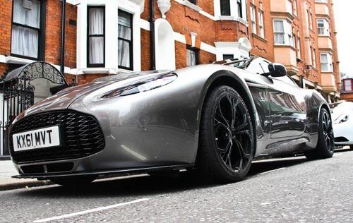 Aston Martin V12 Zagato xuất hiện London - 4