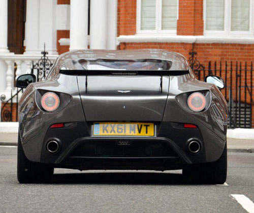 Aston Martin V12 Zagato xuất hiện London - 9