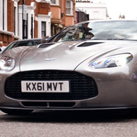 Aston Martin V12 Zagato xut hin London