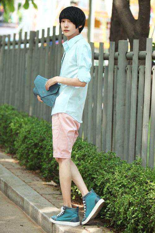Đa phong cách với túi xách như trai Hàn - 2
