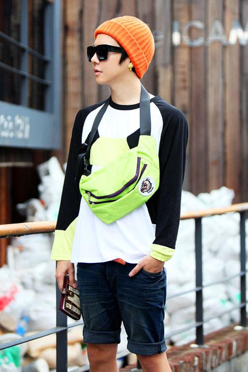 Đa phong cách với túi xách như trai Hàn - 13