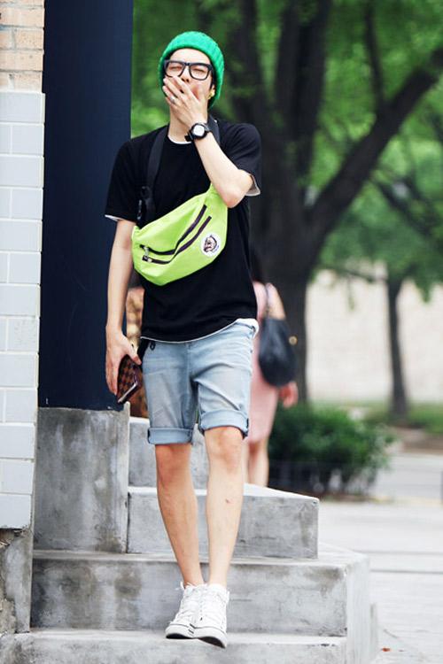 Đa phong cách với túi xách như trai Hàn - 12