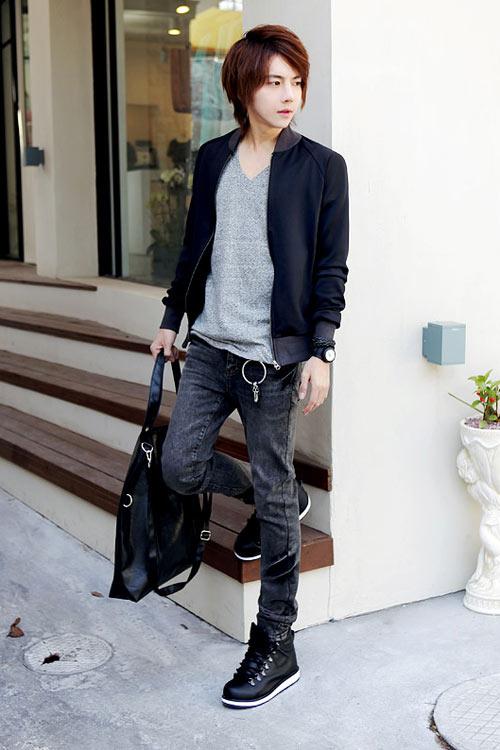 Đa phong cách với túi xách như trai Hàn - 7