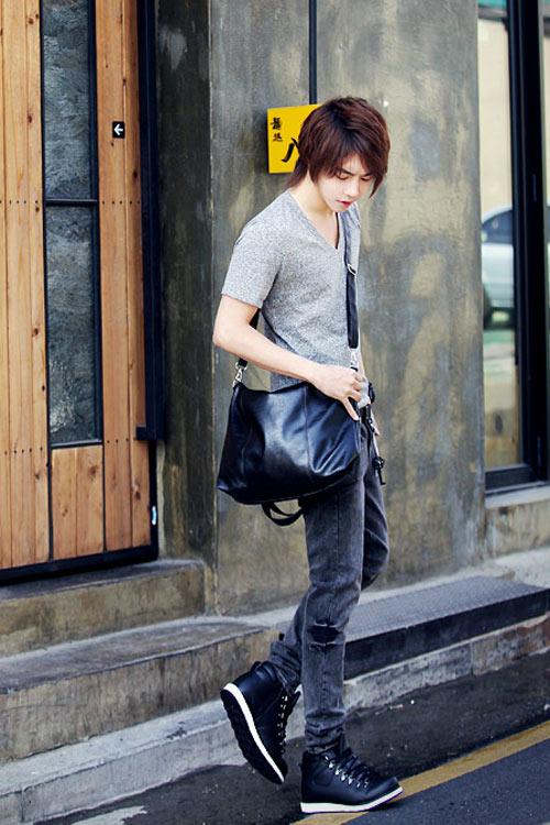 Đa phong cách với túi xách như trai Hàn - 5