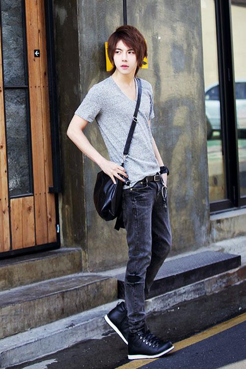 Đa phong cách với túi xách như trai Hàn - 6