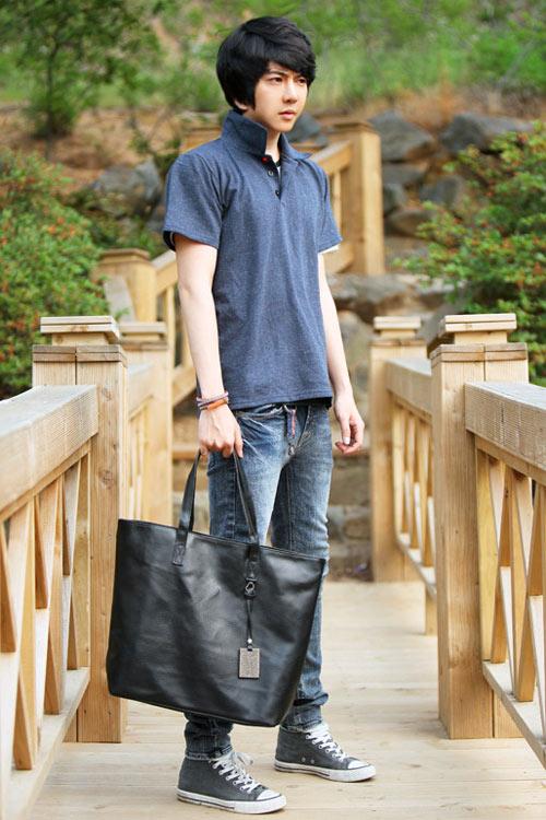Đa phong cách với túi xách như trai Hàn - 15