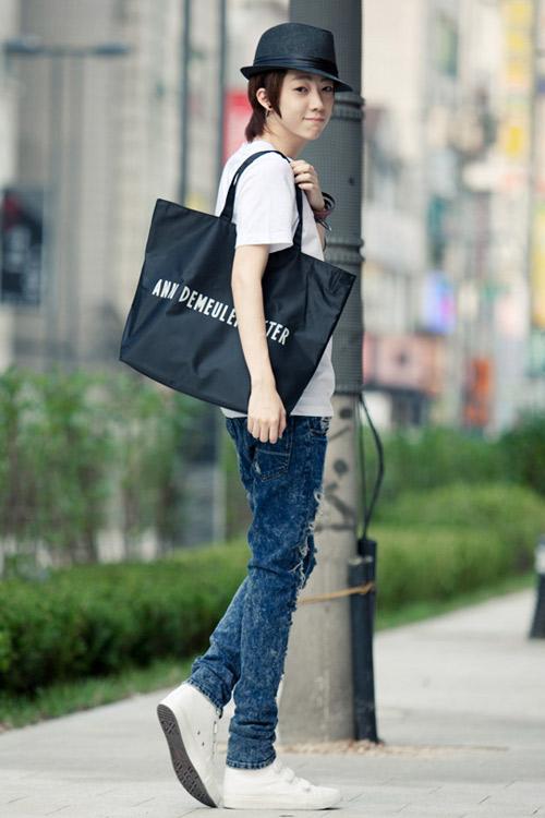 Đa phong cách với túi xách như trai Hàn - 10