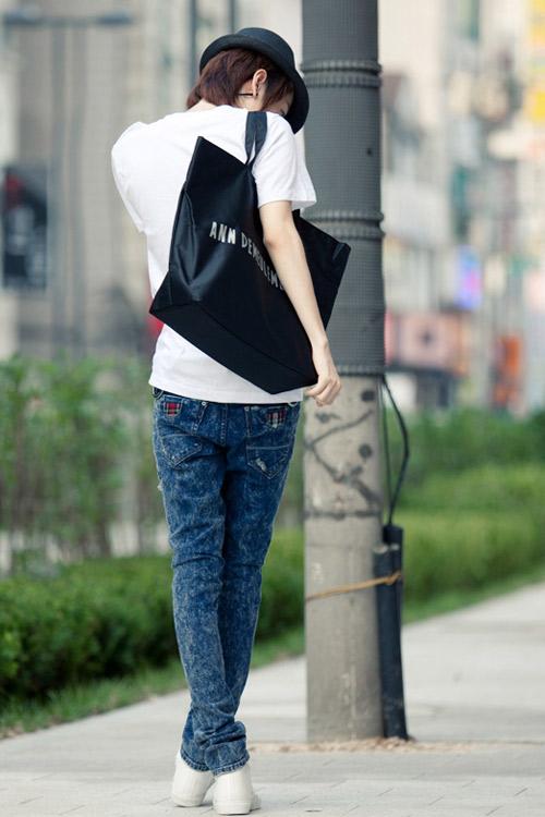 Đa phong cách với túi xách như trai Hàn - 11