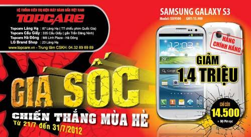 Giá sốc dành cho siêu phẩm Galaxy S3 - 2
