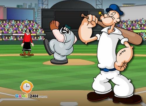 Game hay: Siêu sao bóng chày Popeyes - 2