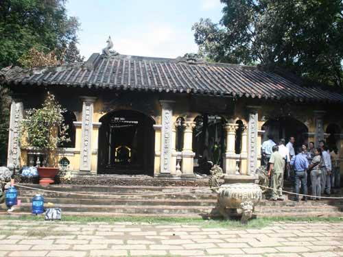 Cháy chùa cổ Hội Sơn, chánh điện bị thiêu rụi - 2
