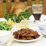 Ẩm thực - Đậm đà thịt, nấm kho tàu