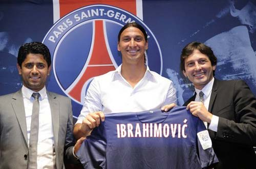 Ibra ra mt honh trng ti PSG, Tin bn l bng , Bng , ibra ra mat psg, ibrahimovic, milan, ibra, psg, ibrahimovic, serie a, bong da, bong da italia, bong da 24h, ket qua bong da, bao bong da, olympic
