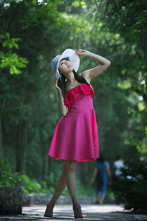 Xuống phố xinh tươi như Hwang Mi Hee - 4