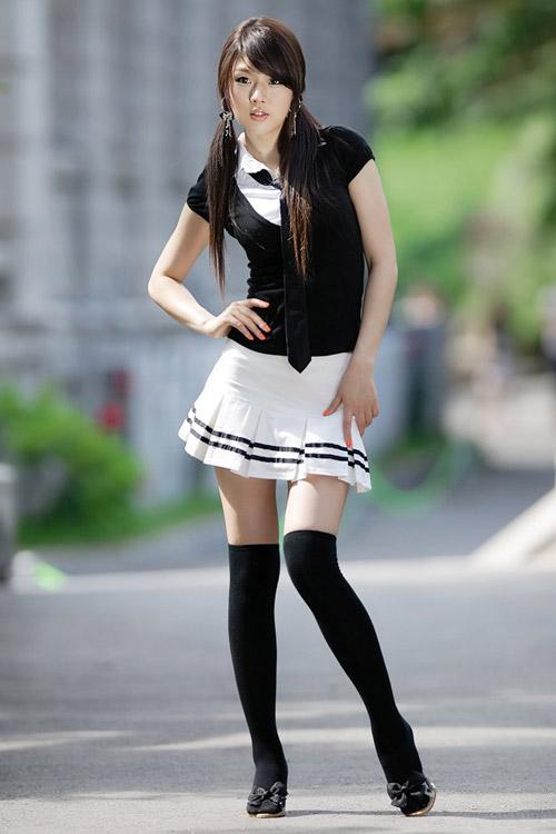 Xuống phố xinh tươi như Hwang Mi Hee - 7