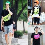 Thời trang - Đa phong cách với túi xách như trai Hàn