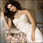 Thời trang - Kiều diễm và tinh tế nhờ váy cưới ren