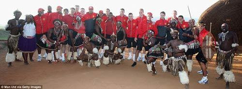 Dàn sao MU quậy tưng bừng tại Nam Phi - 7