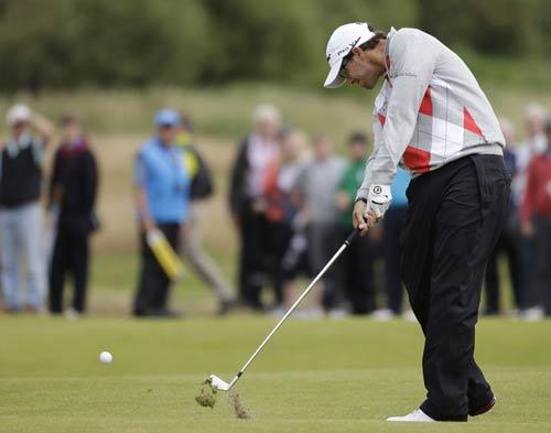 """Golf – Vòng 1 The Open: Adam Scott """"lên đồng"""" - 1"""