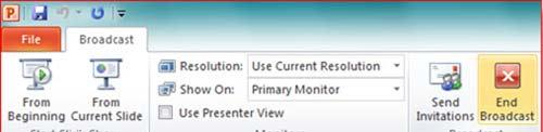 Hướng dẫn trình chiếu file PowerPoint 2010 qua Internet - 4