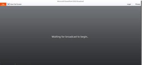 Hướng dẫn trình chiếu file PowerPoint 2010 qua Internet - 5