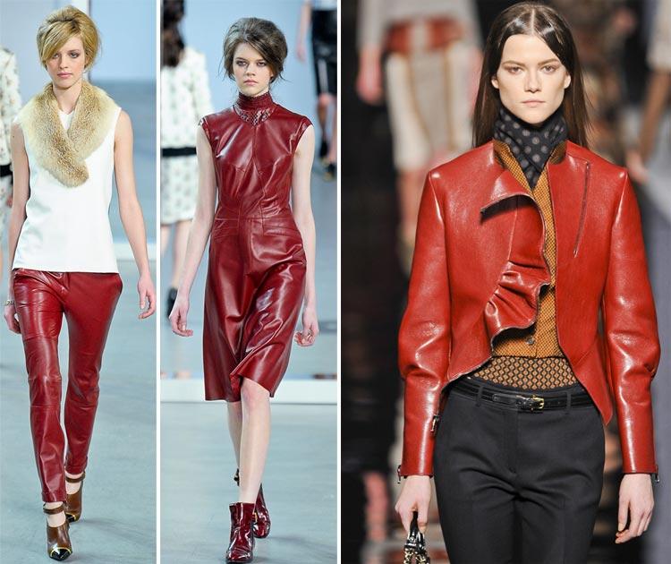 Sắc đỏ lại về trong thu/đông 2012 - 3