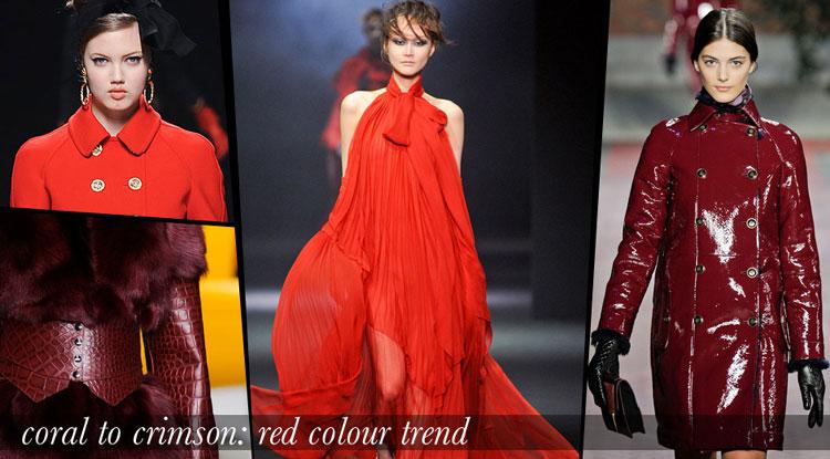 Sắc đỏ lại về trong thu/đông 2012 - 1