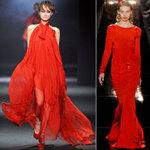Thời trang - Sắc đỏ lại về trong thu/đông 2012