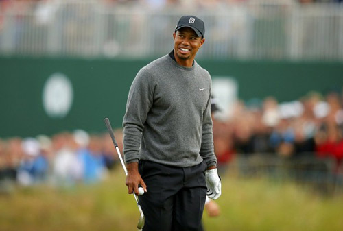 Golf – Vòng 2 The Open: Ấn tượng Tiger Woods - 1