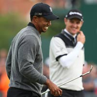 Golf  Vng 2 The Open: n tng Tiger Woods