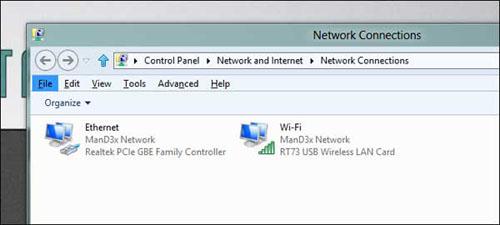 Cài đặt để laptop ưu tiên kết nối mạng có dây - 2