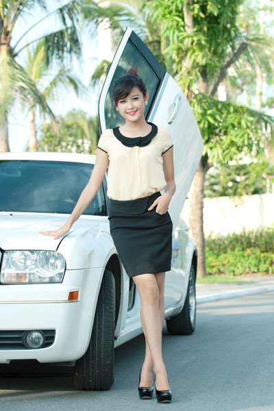 Vy m p cho ma thu H Ni, Thi trang, 