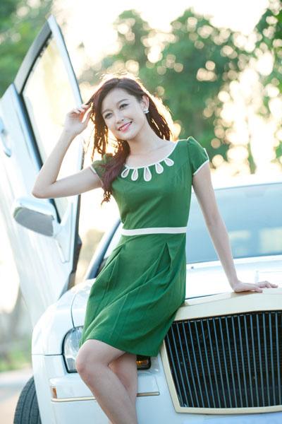 Váy đầm đẹp cho mùa thu Hà Nội - 13