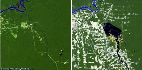 Những biến đổi của Trái đất qua ảnh vệ tinh - 1