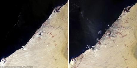 Những biến đổi của Trái đất qua ảnh vệ tinh - 2