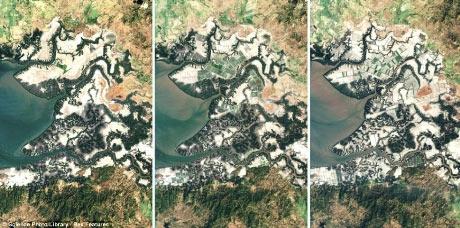 Những biến đổi của Trái đất qua ảnh vệ tinh - 3