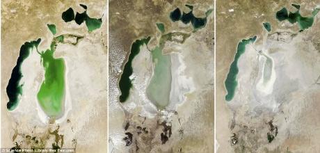 Những biến đổi của Trái đất qua ảnh vệ tinh - 5