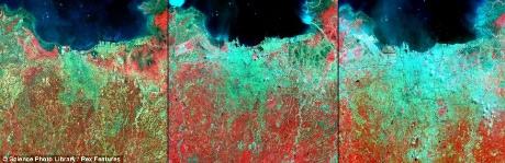 Những biến đổi của Trái đất qua ảnh vệ tinh - 6