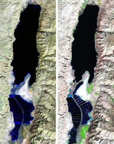 Những biến đổi của Trái đất qua ảnh vệ tinh - 7