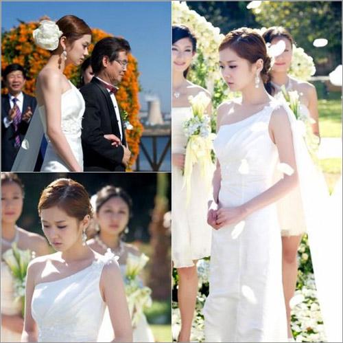 Jang Na Ra làm cô dâu buồn - 1