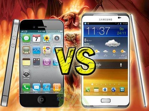Chọn mua iPhone 5 hay Samsung Galaxy S3? - 1