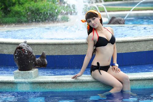 Hot girl Việt khoe đường cong nóng bỏng - 17