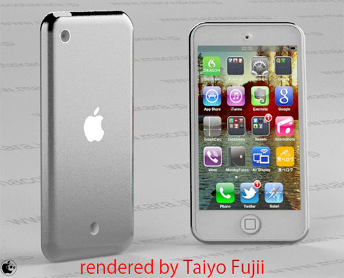 iPod Touch thiết kế giống iPhone 5?, Thời trang Hi-tech, iPod Touch, gia iPod Touch, iPod Touch moi, ra mat iPod Touch, may nghe nhac iPod Touch, may nghe nhac, iPod Touch giong iPhone 5, iPhone 5, iPod Nano, iPhone 4S, Apple, iPad mini
