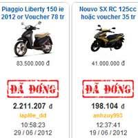Sở hữu xe máy Honda giá rẻ tới 90%